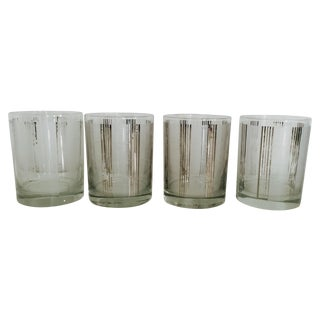 Georges Briard Mid-Century Glasses - Set of 4 For Sale