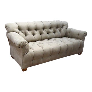 Michael Taylor Tufted Sofa