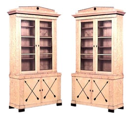 Image of Maple Bookcases and Étagères