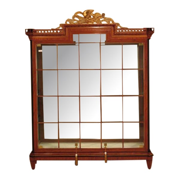 Colombo Italian Neoclassical Lighted Display Cabinet - Image 1 of 11