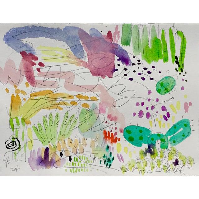 Steve Klinkel Butchart Garden Watercolors - Set of 4 For Sale - Image 4 of 6