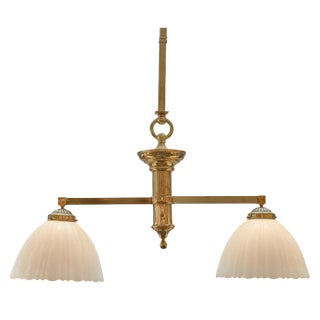1920s Billiard Table Pendant Light For Sale
