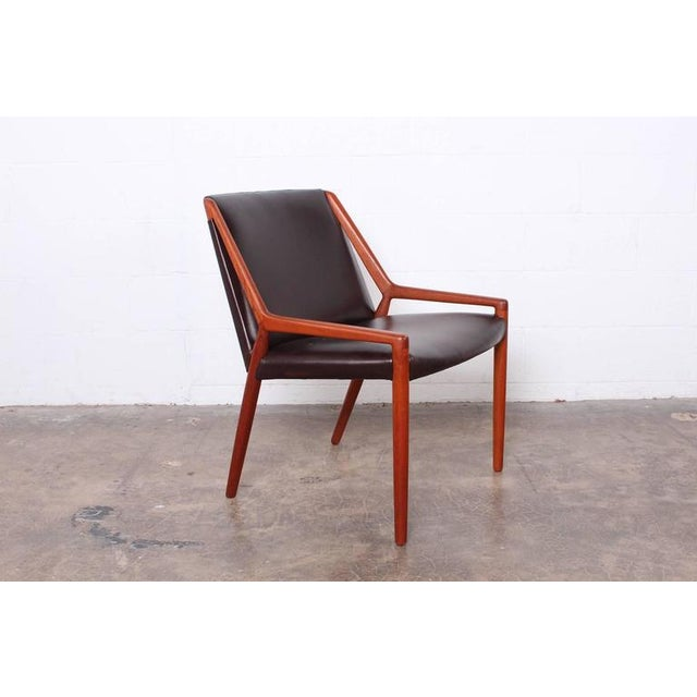 Lounge Chair by Ejner Larsen and Axel Bender Madsen for Willy Beck - Image 2 of 10