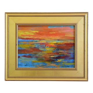 Juan Pepe Guzman Ventura Seascape Oil Painting For Sale