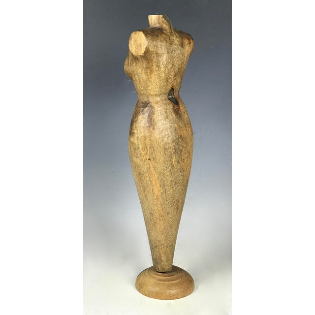 Handcarved Wood Mannequin - Image 8 of 10
