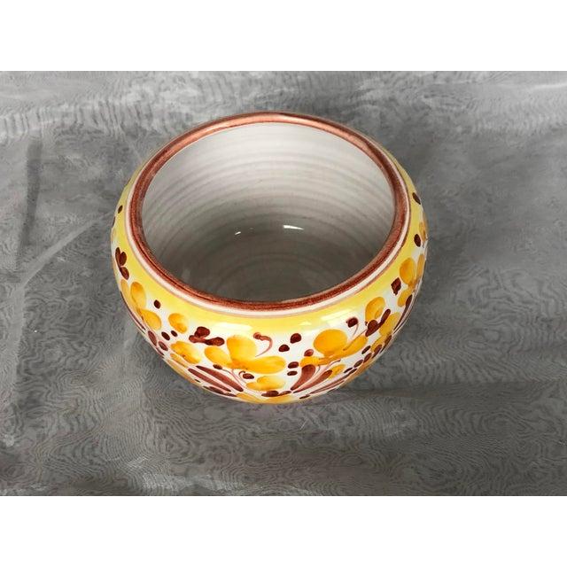 Ceramic Vintage Italian Ceramic Pottery Indoor Planter For Sale - Image 7 of 13