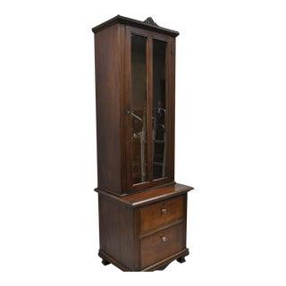 Vintage Victorian Walnut Cabinet