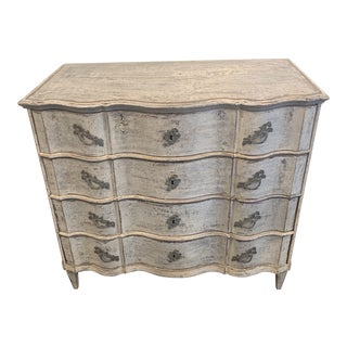 Early 19th Century Serpentine Chest For Sale