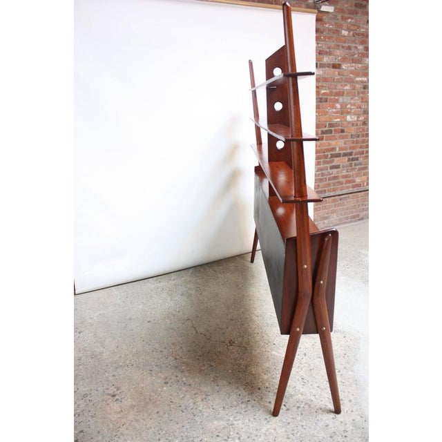 Mid-Century, Italian Modern Freestanding Wall Unit - Image 6 of 10