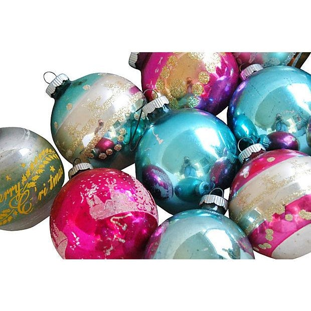 1960s Christmas Holiday Ornaments - Set of 12 - Image 4 of 5