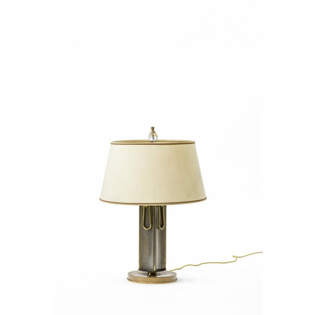 Mid-Century Modern Marcel Asselbur 1950s 4 Rings Table Lamp For Sale - Image 3 of 7