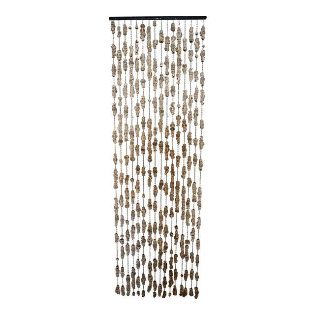 60's Ceramic Bead Tapestry/Room Divider For Sale