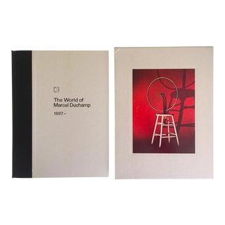 """ The World of Marcel Duchamp "" Rare 1st Edtn 1966 Slipcase Hardcover Collector's Book For Sale"