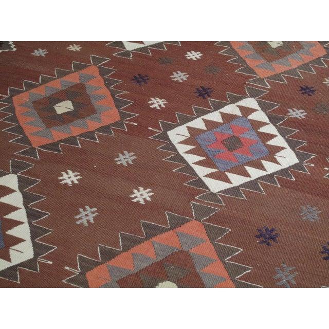 Textile Balikesir Kilim For Sale - Image 7 of 8