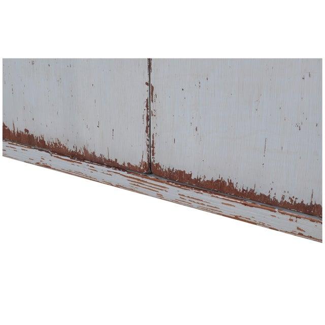 Sarreid LTD Pine Zack Cabinet - Image 4 of 5