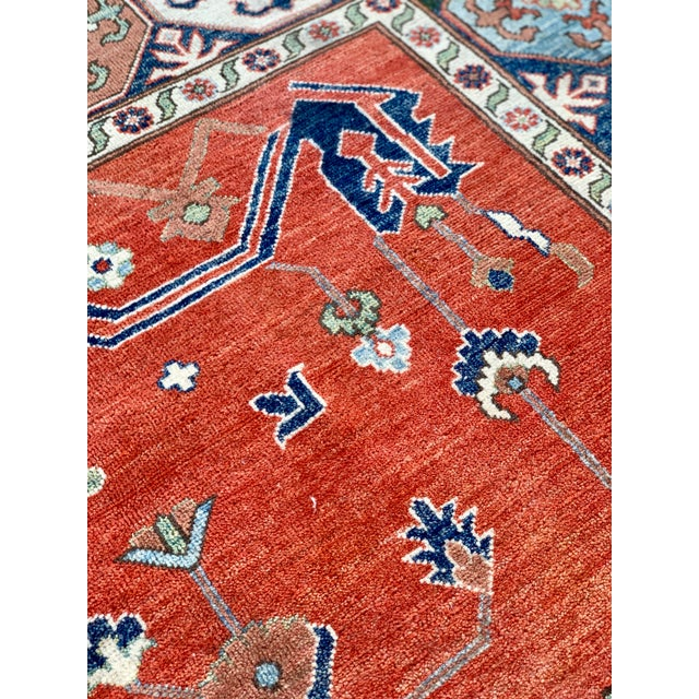 1990s Serapi Large Area Rug-10′ × 13′9″ For Sale - Image 11 of 13