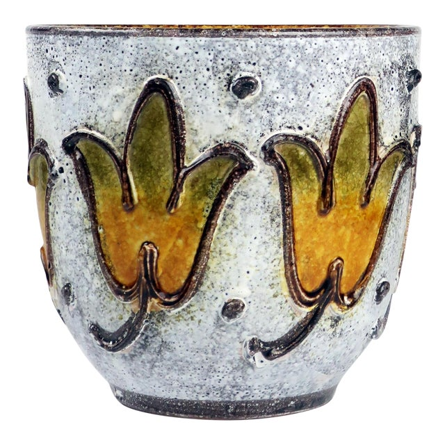 1960s Italian Ceramic Planter For Sale