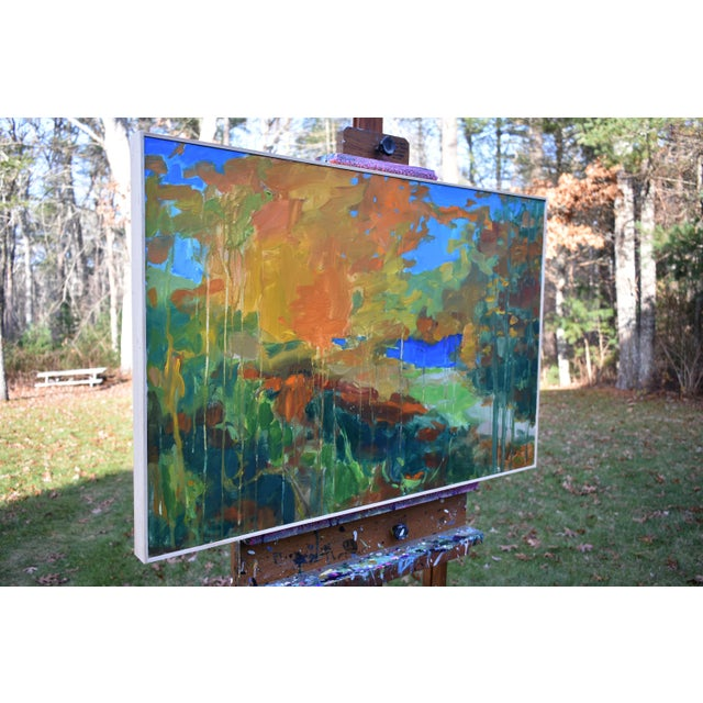"""Canvas Stephen Remick """"Path to the River"""" Painting For Sale - Image 7 of 11"""