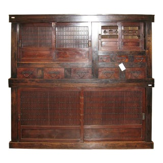 Mizuya Dansu Antique Kitchen Chest For Sale