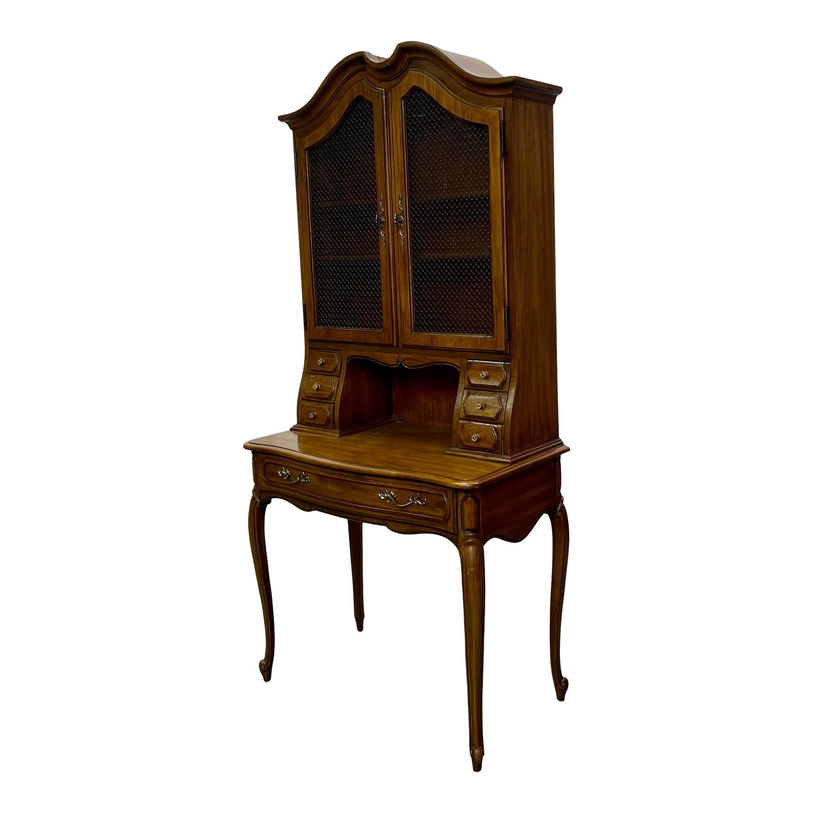 Vintage Thomasville Furniture French Provincial Camille Collection Secretary Desk Chairish