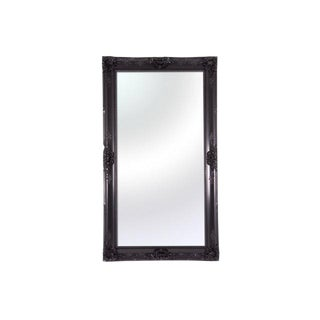 Modani Caravaggio Oversized Black Lacquer Mirror For Sale