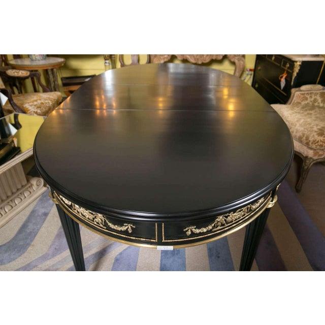 Maison Jansen Bronze-Mounted Dining Table - Image 4 of 8
