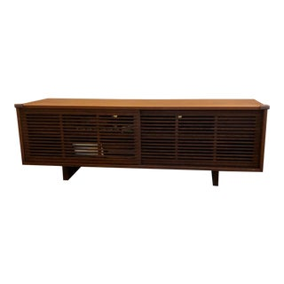 Italian Mid Century Style Media Cabinet/Low Console For Sale