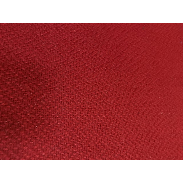 Red J.G. Furniture Red Laminate Chairs -Set of 6 For Sale - Image 8 of 11
