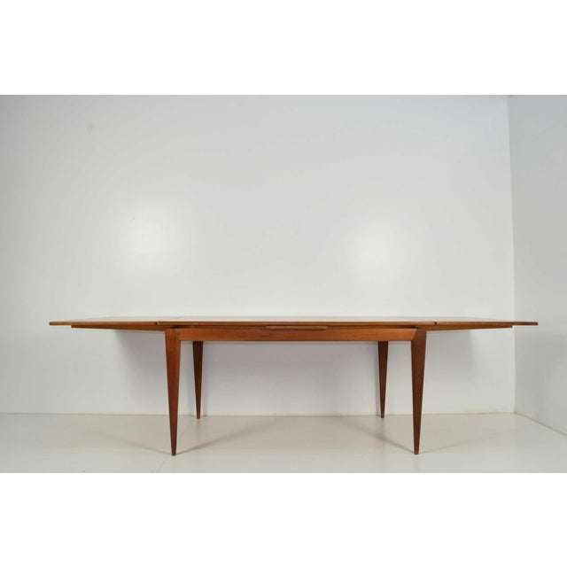 Brown IB Kofod-Larsen Dining Table For Sale - Image 8 of 8