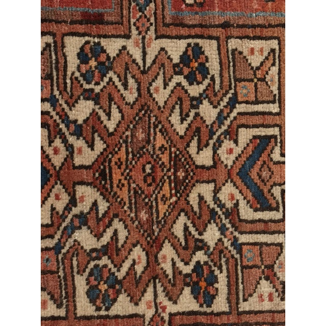 "Vintage Persian Karajeh Runner - 3'1"" x 11'6"" - Image 6 of 10"