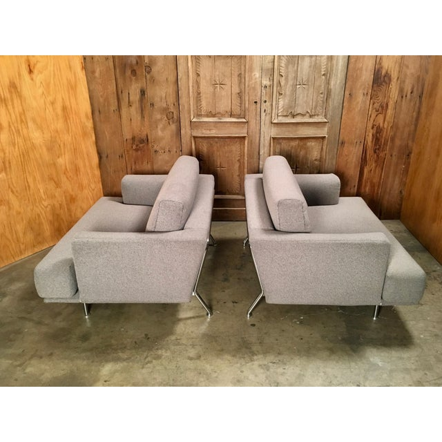 "Late 20th Century Piero Lissoni for Cassina ""253 Nest"" Chairs- a Pair For Sale In Los Angeles - Image 6 of 13"
