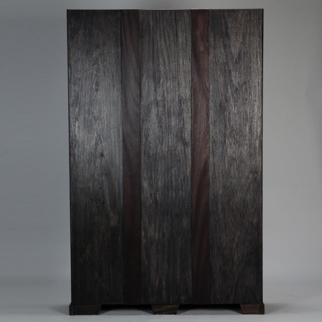 Early 19th Century 19th Century Door Frame Bookcase with Copper Lined Shelves For Sale - Image 5 of 11