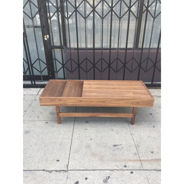 """Custom Handcrafted """"Rosa"""" Coffee Table For Sale - Image 13 of 13"""