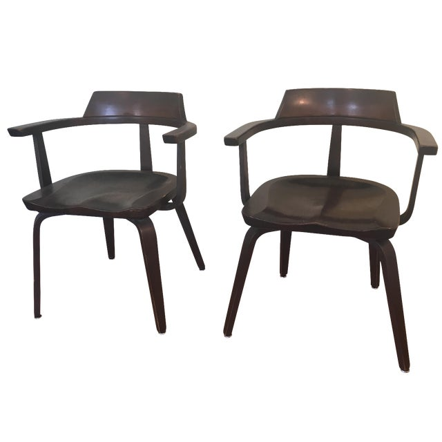"Walter Gropius ""W199"" Chairs - A Pair - Image 1 of 4"