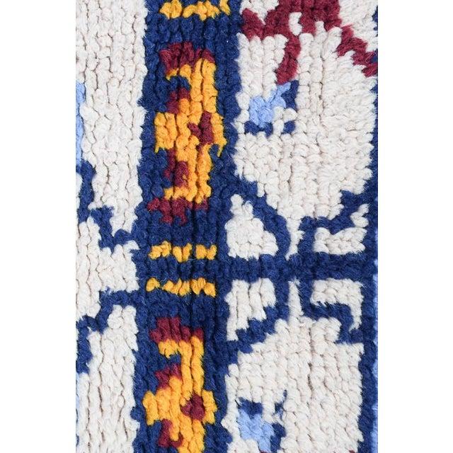 Handmade Vintage Rug For Sale - Image 4 of 10