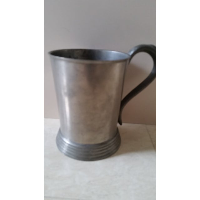 Harvard 1883 Bicycle Club Horses & Hounds Pewter Tankard/Mug For Sale - Image 4 of 9