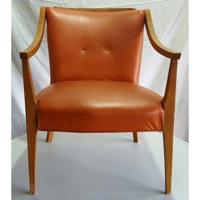 1950s Mid Century Modern Danish Style Chair - Image 2 of 4