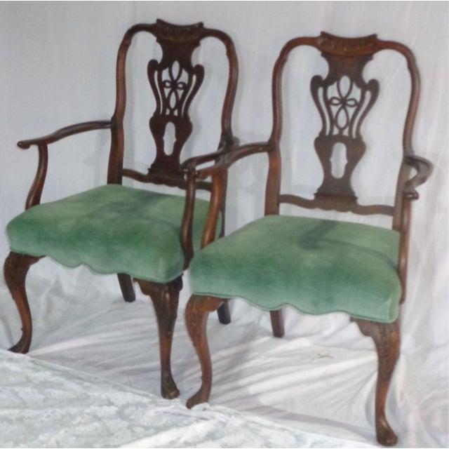 Batesville Mahogany Dining Chairs- Set of 6 - Image 8 of 11
