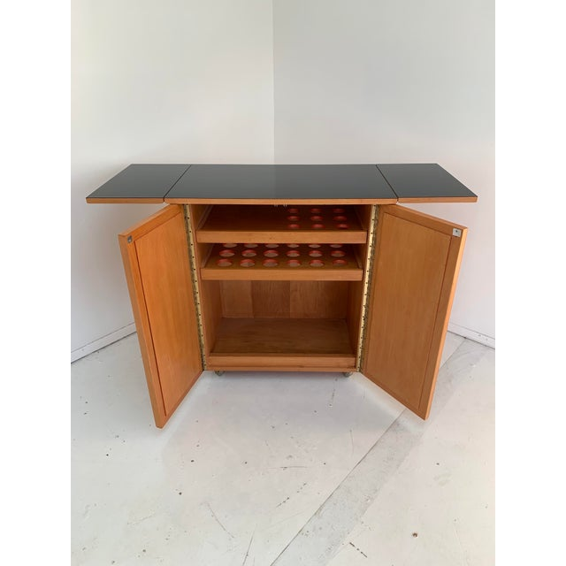 1960s 1960s Vintage Mid Century Bar Cart For Sale - Image 5 of 13