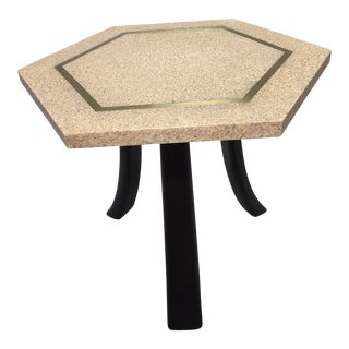 Harvey Probber Hexagonal Top Side Table For Sale