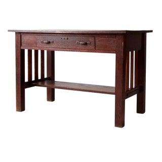 Antique Mission Style Desk