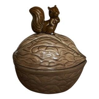 Vintage Nut Shaped Box For Sale