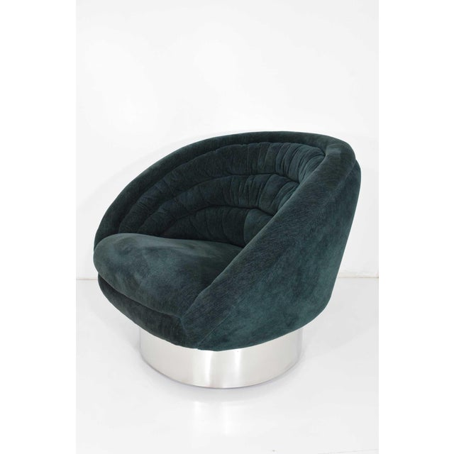 Vladimir Kagan Crescent Chair For Sale In Dallas - Image 6 of 10