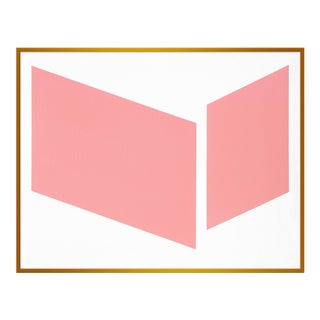 "Large ""Pink Disjointed"" Print by Jason Trotter, 41"" X 51"""