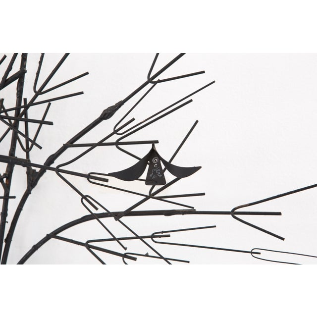 C. Jere Wall Sculpture 'Birds & Trees' - Image 5 of 8