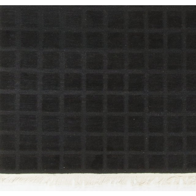 Modern Hand-Knotted Wool Rug 8' X 10' - Image 4 of 4