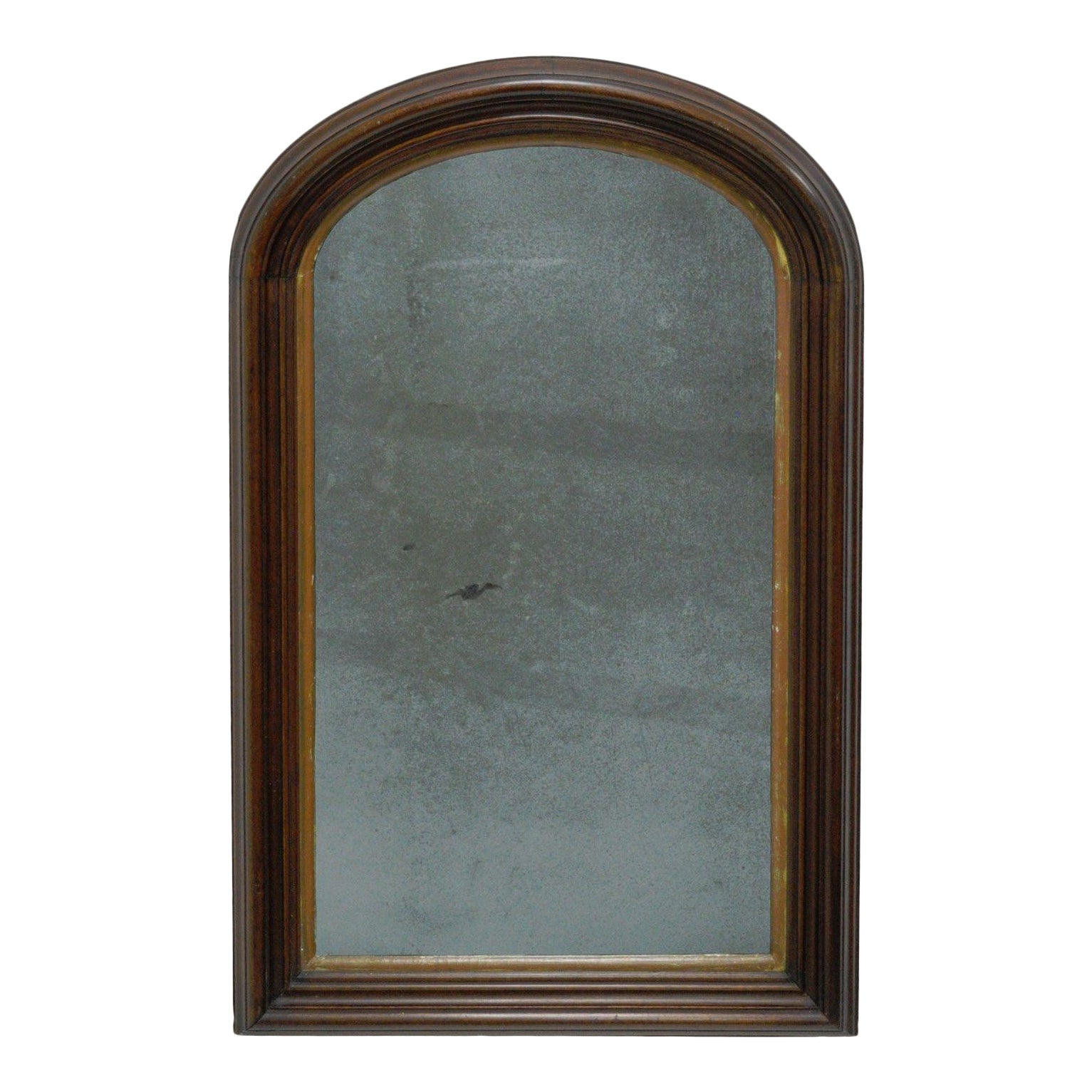 Antique American Empire Gany Looking Glass Ogee Wall Mirror Arch Frame 31x20 Chairish