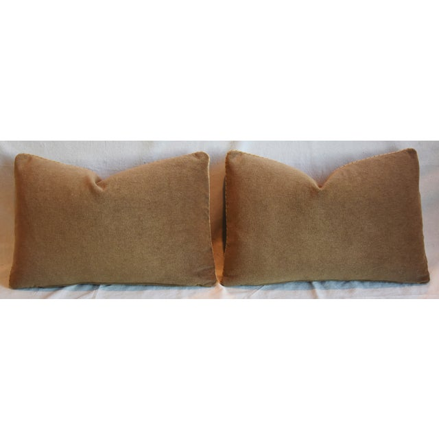 """Italian Mariano Fortuny Piumette Feather/Down Pillows 23"""" X 15"""" - Pair For Sale - Image 11 of 13"""