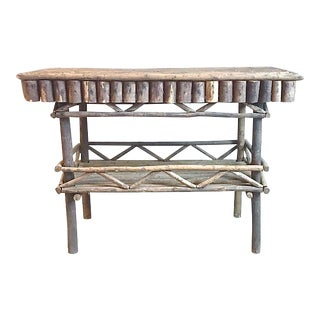 Rustic Woodlands Console Table