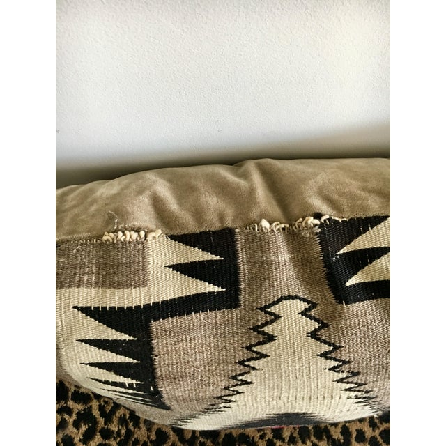 Geometric Navajo Weaving Pillows - Pair - Image 4 of 6